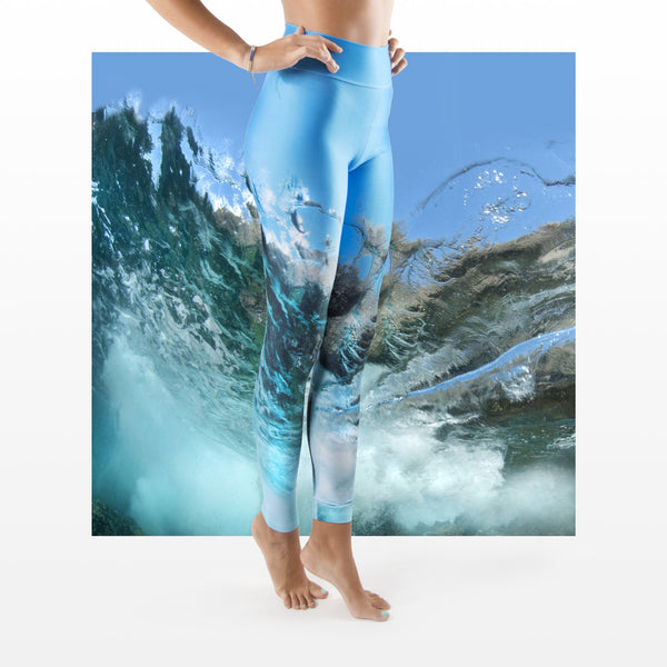 WAP High Waist Tummy Control Leggings Water Action 3