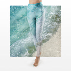WAP High Waist Tummy Control Leggings Water Action 5