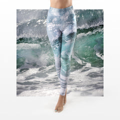 WAP High Waist Tummy Control Leggings Water Action 6