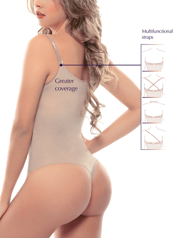 933 Thong Style Braless Body Shaper