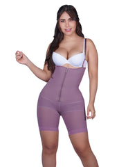 PL1 Postpartum Mid-Thigh Full Body Shaper with abdominal reinforcement