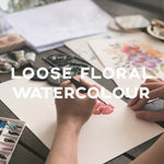 Loose Floral Watercolour - IKI Makers Union