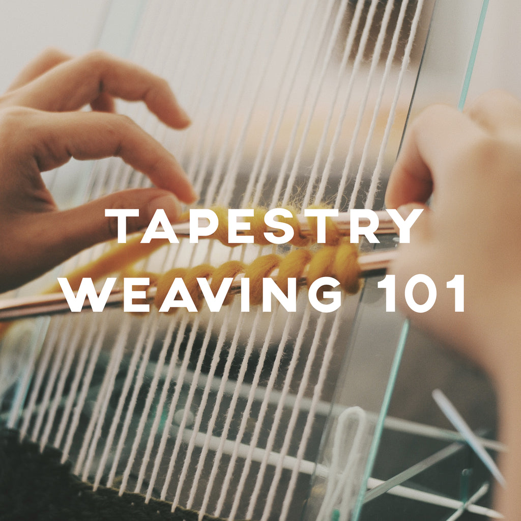 Tapestry Weaving 101 - IKI Makers Union