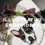 Illustrative Embroidery - IKI Makers Union