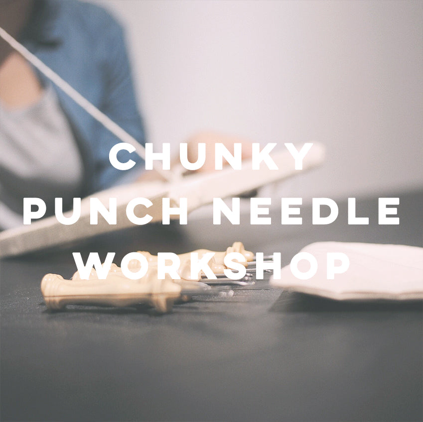 Chunky Punch Needle - IKI Makers Union