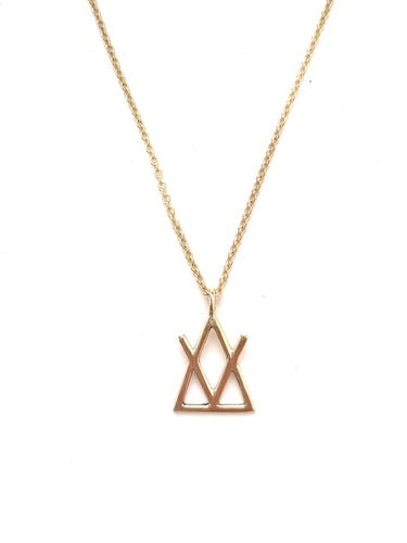 The Adventum™ 14k Gold Necklace by Susanne Elizabeth Jewelry