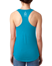 Load image into Gallery viewer, Adventum Breathe Racerback Tank Blue