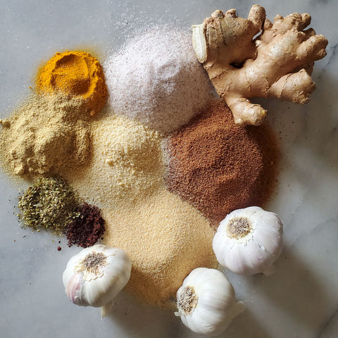 AIP BBQ Spice Rub Wings Ingredients