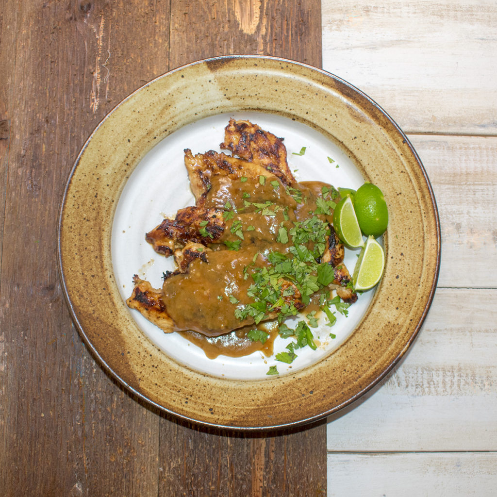AIP Grilled Lime Coconut Chicken