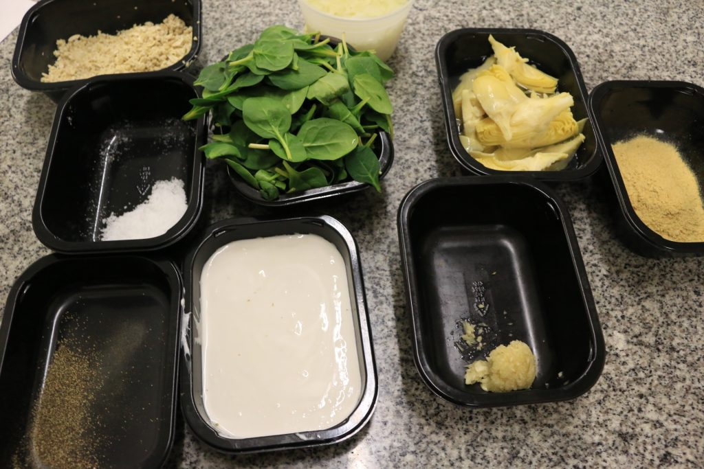 aip paleo spinach artichoke dip ingredients