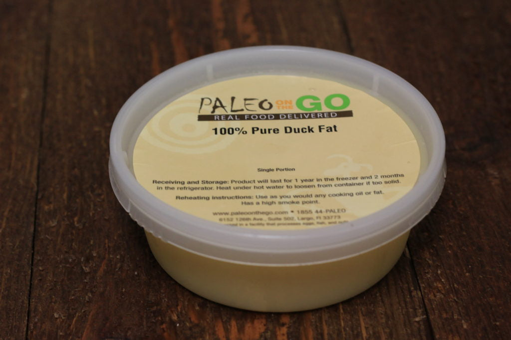 paleo on the go duck fat
