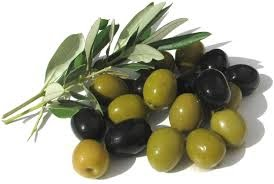 black and green olives - monounsaturated fats