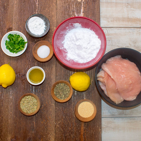 AIP Chicken Scallopini Ingredients