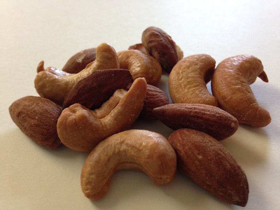 nuts for the paleo diet