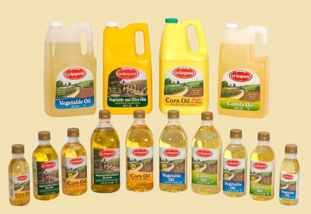 vegetable oils - polyunsaturated fats
