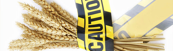 gluten sensitivity caution tape