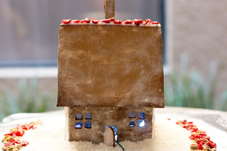 paleo aip gingerbread house