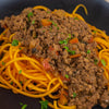 paleo aip beef bolognese