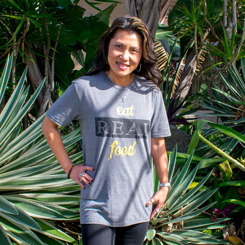 Eat Real Food T-shirt - Unisex