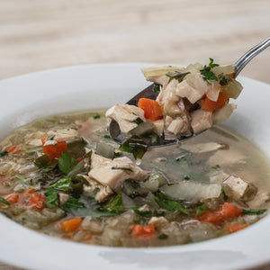 Grandma's Chicken Soup Spoonfull