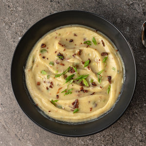 aip loaded baked sweet potato soup