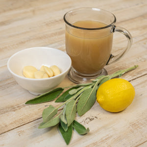 Paleo AIP Lemons, Garlic, and Sage Bone Broth Organic AIP