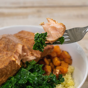 paleo Smoked Salmon Breakfast