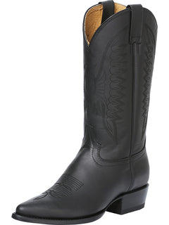 COWBOY BOOT RODEO BRAVO 70506 OILED LEATHER BLACK