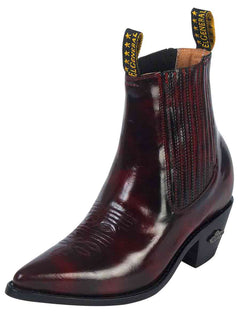 ANKLE BOOT EL GENERAL 25 LEATHER VINO