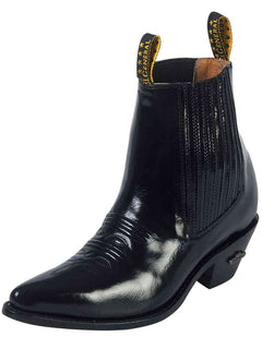 ANKLE BOOT EL GENERAL 25 LEATHER BLACK
