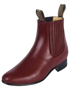 ANKLE BOOT EL BESSERRO BR 2214 LEATHER VINO