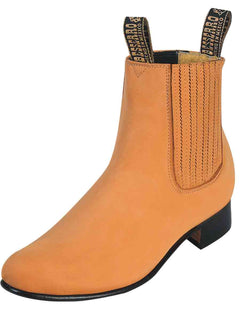 ANKLE BOOT EL BESSERRO BR 2208 NUBUCK LEATHER HONEY