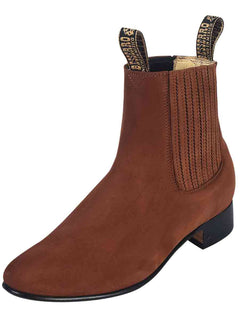 ANKLE BOOT EL BESSERRO BR 2204 NUBUCK LEATHER CAMEL