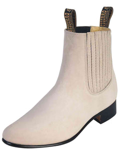 ANKLE BOOT EL BESSERRO BR 2207 NUBUCK LEATHER BONE