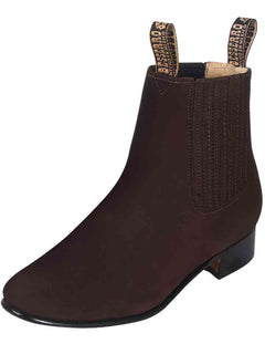 ANKLE BOOT EL BESSERRO BR 2206 NUBUCK LEATHER TOBACCO