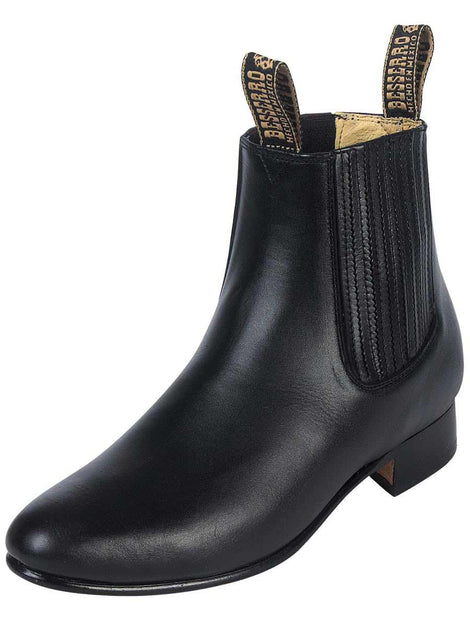 ANKLE BOOT EL BESSERRO BR 2215 LEATHER BLACK