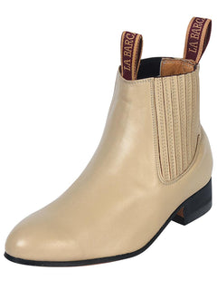 ANKLE BOOT LA BARCA LB 300 PASO SE MULA LEATHER BONE