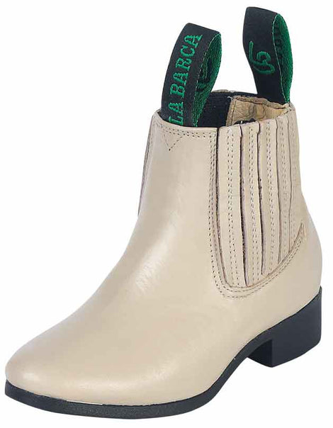 ANKLE BOOT LA BARCA LB-603 LEATHER BONE
