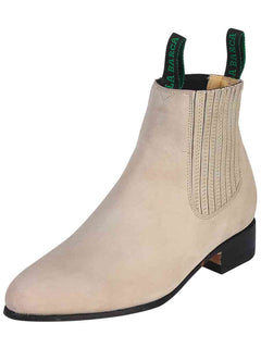 ANKLE BOOT LA BARCA LB 500 TRADICIONAL NUBUCK LEATHER PEARL