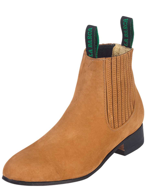 ANKLE BOOT LA BARCA LB 500 TRADICIONAL NUBUCK LEATHER CAMEL