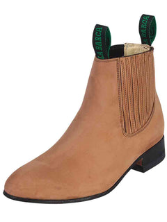ANKLE BOOT LA BARCA LB 500 TRADICIONAL NUBUCK LEATHER TOPO