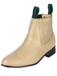 ANKLE BOOT LA BARCA LB 500 TRADICIONAL LEATHER BONE