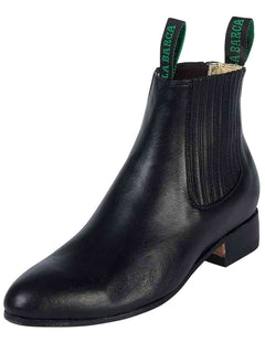ANKLE BOOT LA BARCA LB 500 TRADICIONAL LEATHER BLACK
