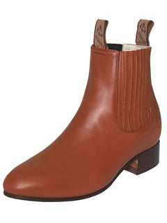 ANKLE BOOT EL CANELO 1 DEER SKIN MAPLE