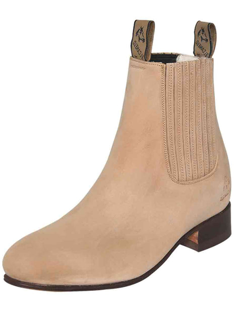 ANKLE BOOT EL CANELO 1 NUBUCK LEATHER SAND