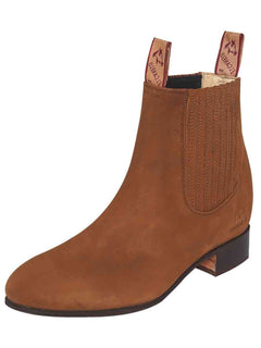 ANKLE BOOT EL CANELO 1 NUBUCK LEATHER TOPO