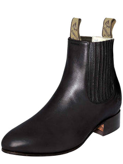 ANKLE BOOT EL CANELO 1 DEER SKIN BLACK