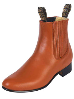 ANKLE BOOT EL BESSERRO 2216 LEATHER BRANDY