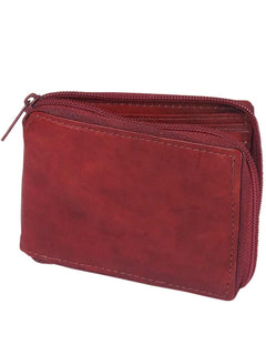 WALLET EL GENERAL CA-CIERRE LEATHER BROWN
