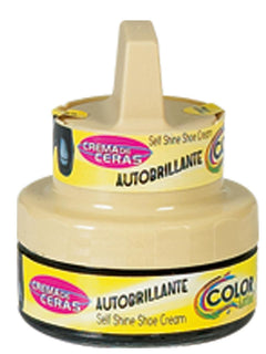 LEATHER CLEANING SUPPLIES COLOR LATINO 1481 CREAM BLACK